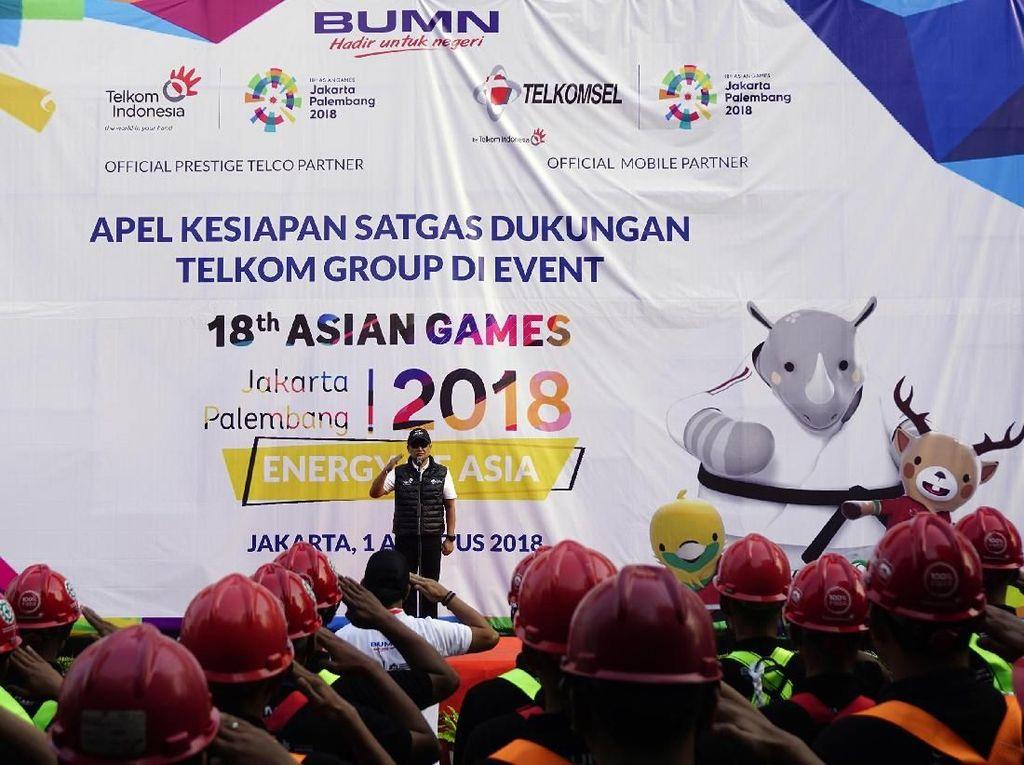 TelkomGroup Komitmen Kawal Layanan ICT Asian Games