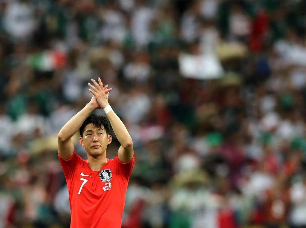 Tiba di Bandung, Son Heung-min Memulai Misi Memburu Emas Asian Games 2018