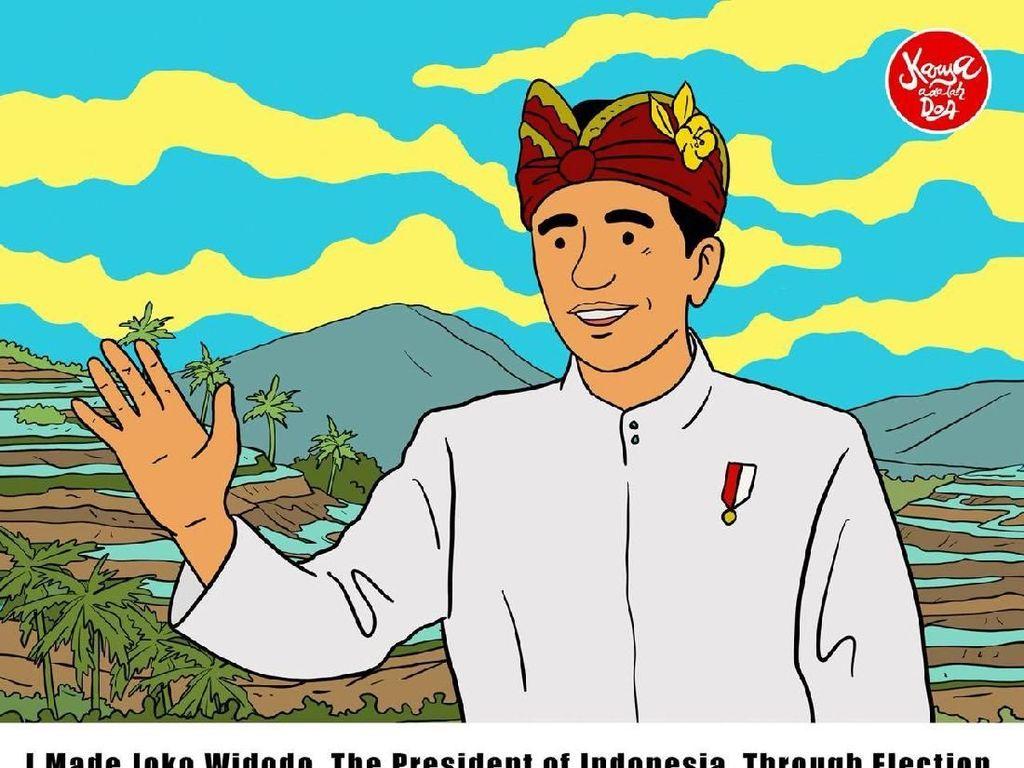 Komik Jokowi Jadi Harapan bagi Indonesia yang Lebih Baik Lagi