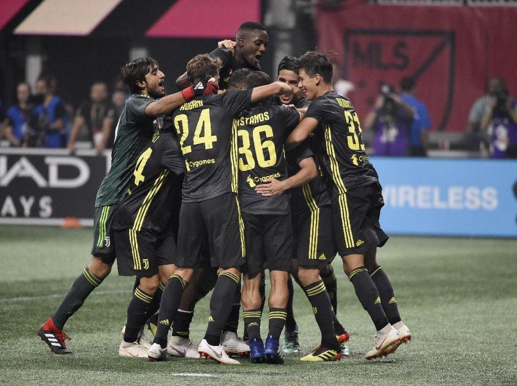 Tanpa Ronaldo, Juventus Tundukkan MLS All Star