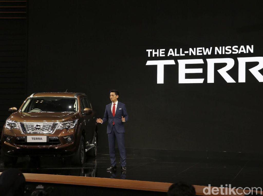Desain Nissan Terra Disesuaikan dengan Orang Indonesia