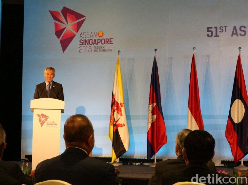 Buka Pertemuan Menlu ASEAN, PM Singapura Sampaikan Duka Gempa NTB