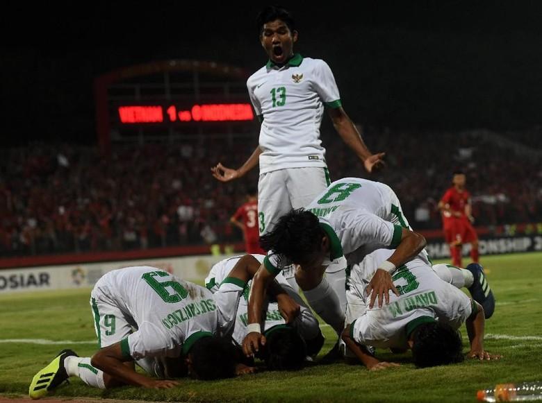 Piala AFF U-16: Indonesia Gasak Vietnam 4-2