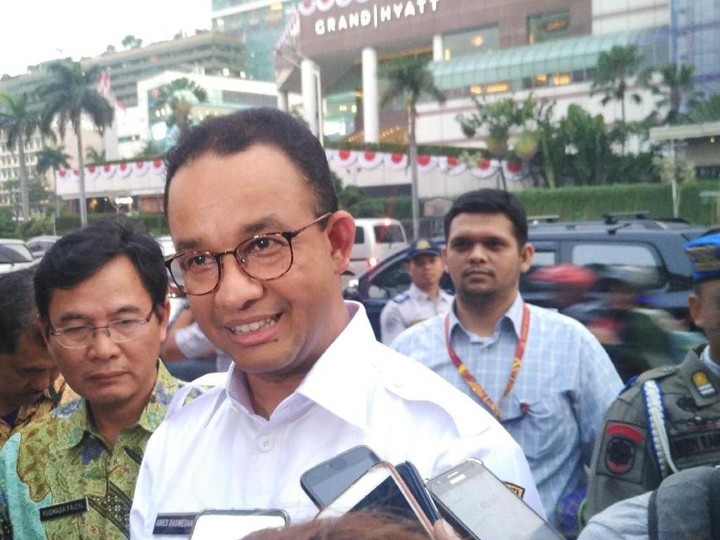 Anies Cerita Jokowi Penasaran soal Heboh Perobohan JPO Bundaran HI