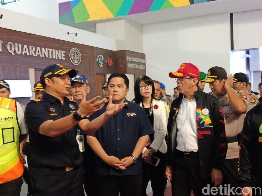 Menkum Pastikan Kesiapan Bandara Soetta Sambut Asian Games