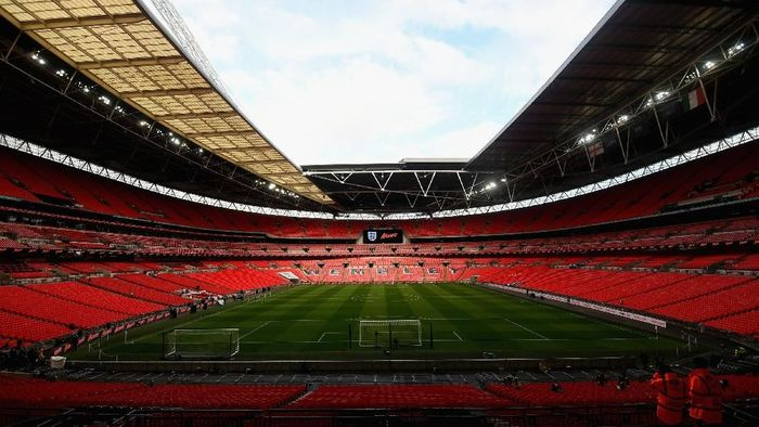Wembley stadion kebanggaan Inggris (Foto: Claudio Villa/Getty Images)