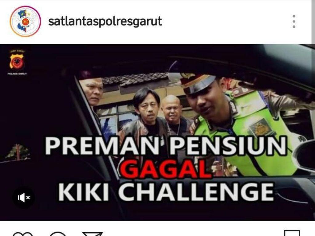 Polantas Garut & Preman Pensiun Bikin Parodi Kiki Challenge