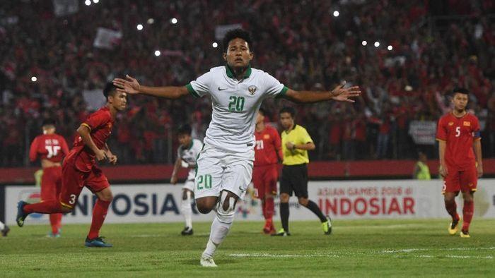 Pemain timnas Indonesia U-16, Amiruddin Bagus Kahfi Al-Fikri. (Foto: Zabur Karuru/Antara Foto)