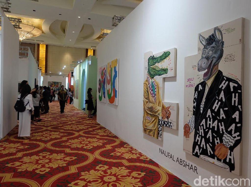 Resmi Dibuka, Art Jakarta 2018 Hadirkan 51 Galeri Seni