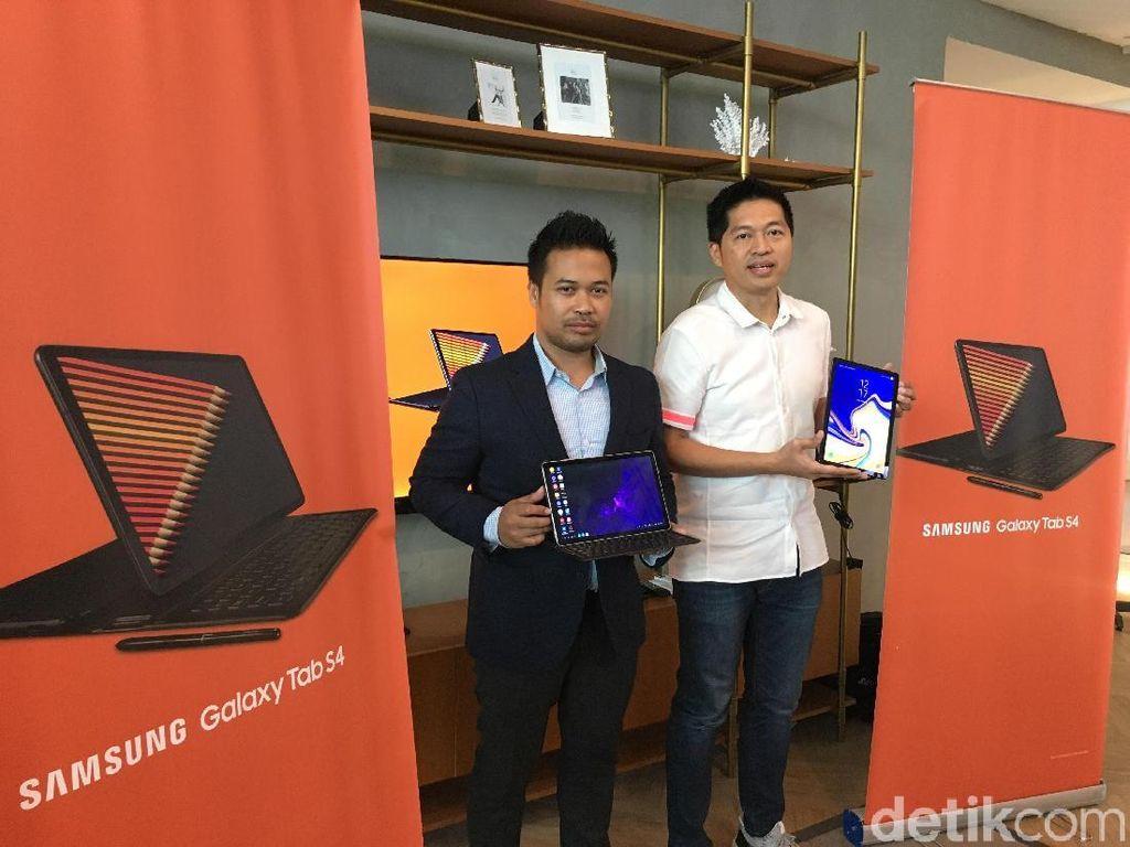 Galaxy Tab S4, Tablet Rasa Laptop