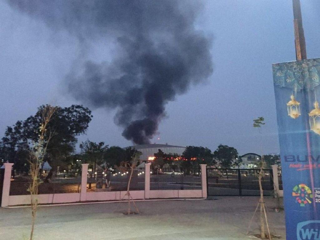 Velodrome Rawamangun Terbakar? Itu Hoax