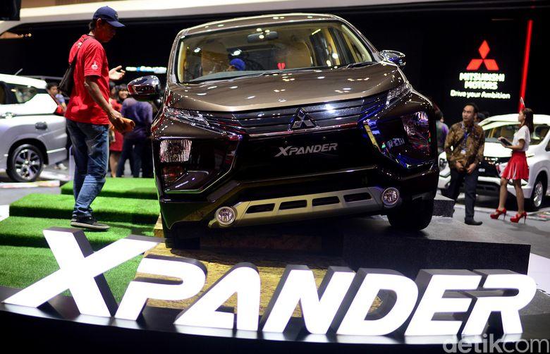Xpander varian terbaru. Foto: Ari Saputra