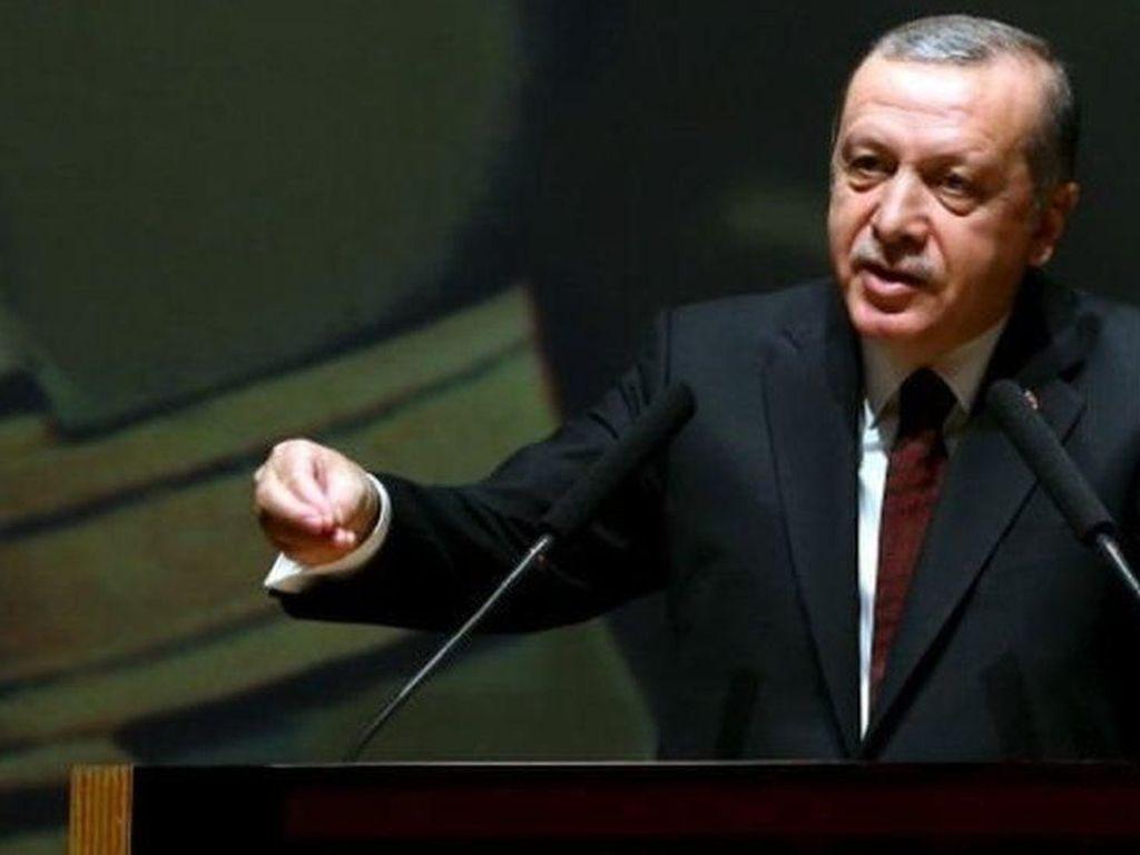 Erdogan Tuduh Amerika Serikat Bermental Penginjil dan Zionis