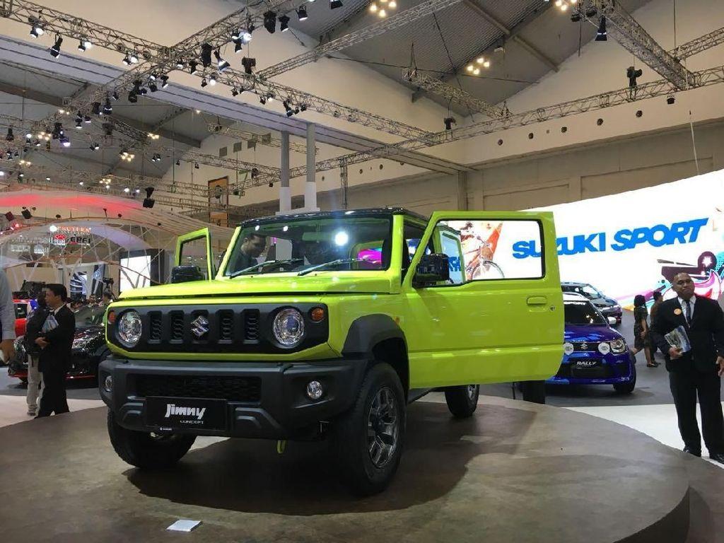 Sudah Dijual di Jepang, Jimny Baru Dipamerkan di Indonesia