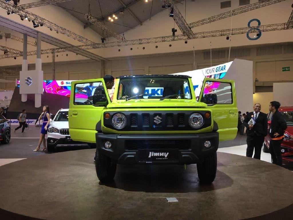 GIIAS 2018: Suzuki Pengin Banget Produksi Jimny di Indonesia