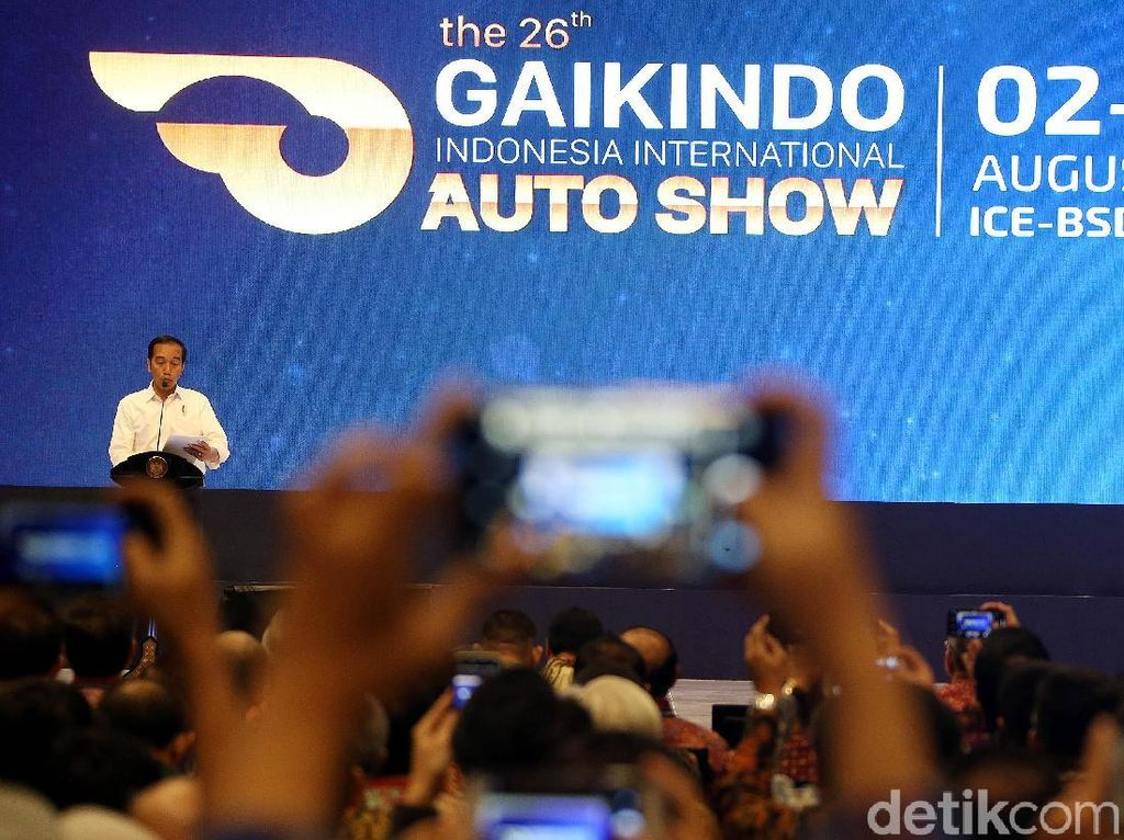 Presiden Jokowi Dijadwalkan Buka Pameran GIIAS 2021
