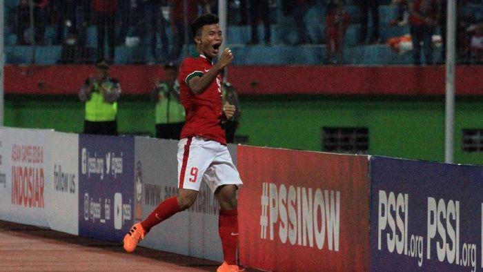 Gelandang serang Timnas Indonesia U-16 Sutan Diego Zico