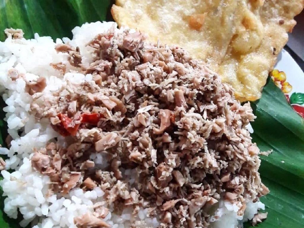 Sedep Tenan! Nasi Megono Gurih Pedas  Plus Tempe Goreng Buat Sarapan