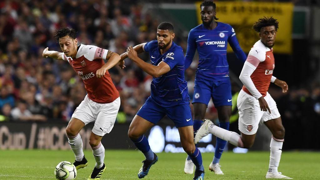 Arsenal Taklukkan Chelsea dalam Derby London ICC 2018