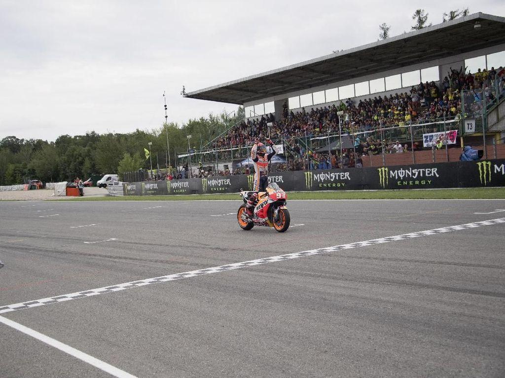 Marquez Tak Pikirkan Keunggulan Besar di Papan Klasemen