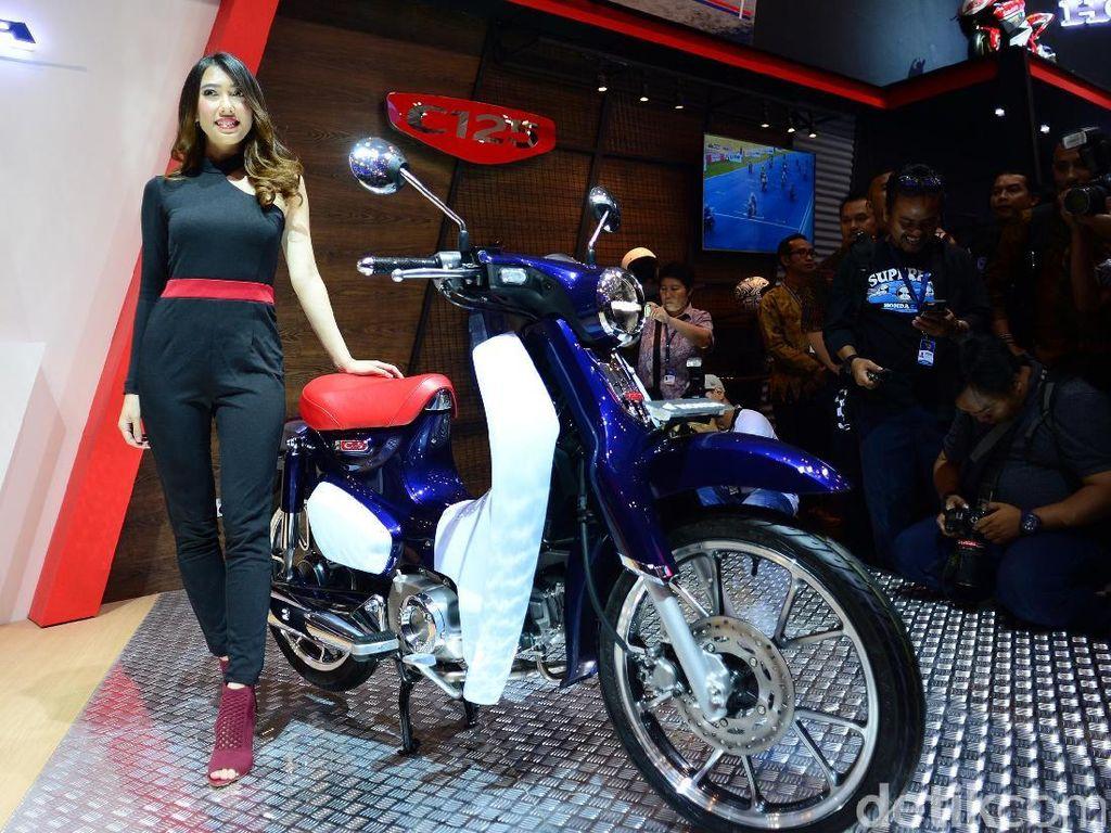Kata Kolektor Motor Bebek Soal Honda Super Cub Rp 55 Juta