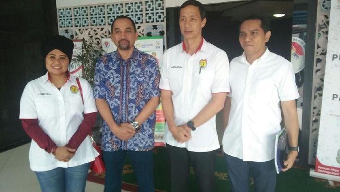 BOPI saat bertemu PT Liga Indonesia Baru. (Foto: Randy Prasatya/Detikcom)