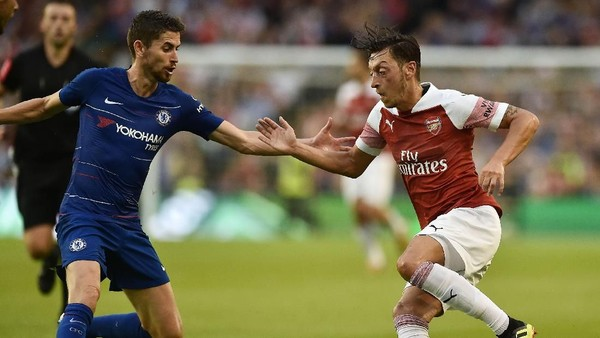 Hasil ICC 2018: Arsenal Kalahkan Chelsea Lewat Adu Penalti