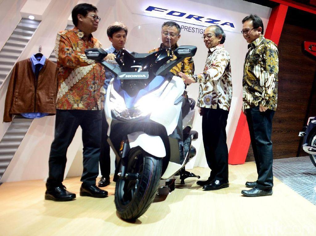 Honda Forza 250, Skutik Bongsor Penantang Xmax