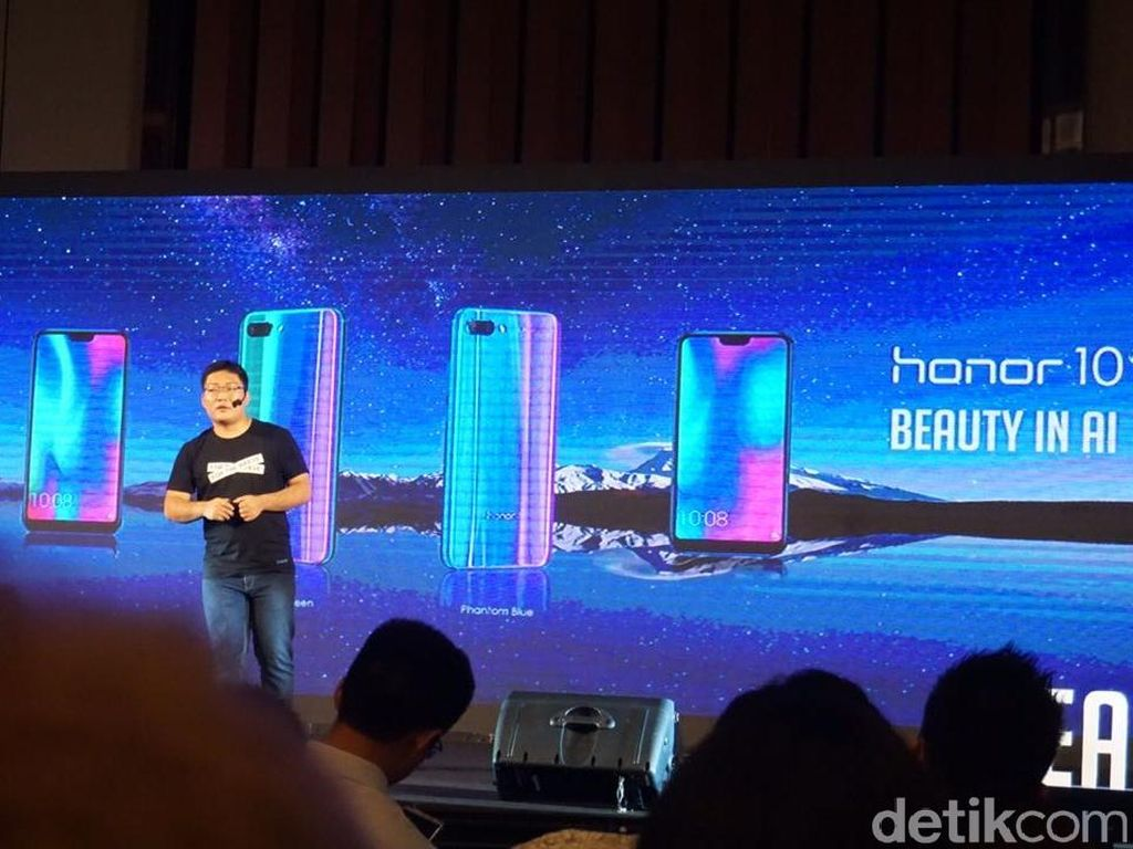 Honor 10 Rilis di Indonesia, Ini Harganya