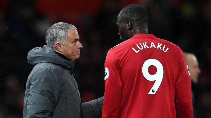 Romelu Lukaku mengaku sering bertengkar dengan Jose Mourinho. (Foto: Gareth Copley/Getty Images)