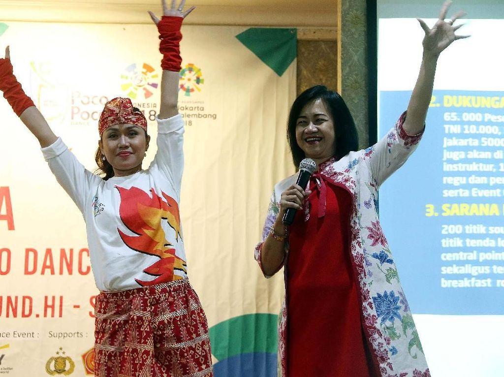 Sambut Asian Games, Senam Poco-Poco Massal Akan Digelar di Jakarta