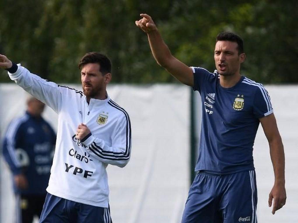 Timnas Argentina Tunjuk Lionel Scaloni Jadi Pelatih Sementara