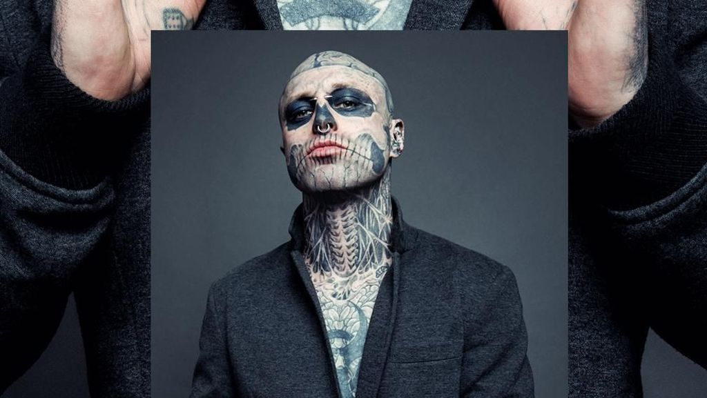 Tragis, Model Zombie Boy Favorit Lady Gaga Tewas Bunuh Diri