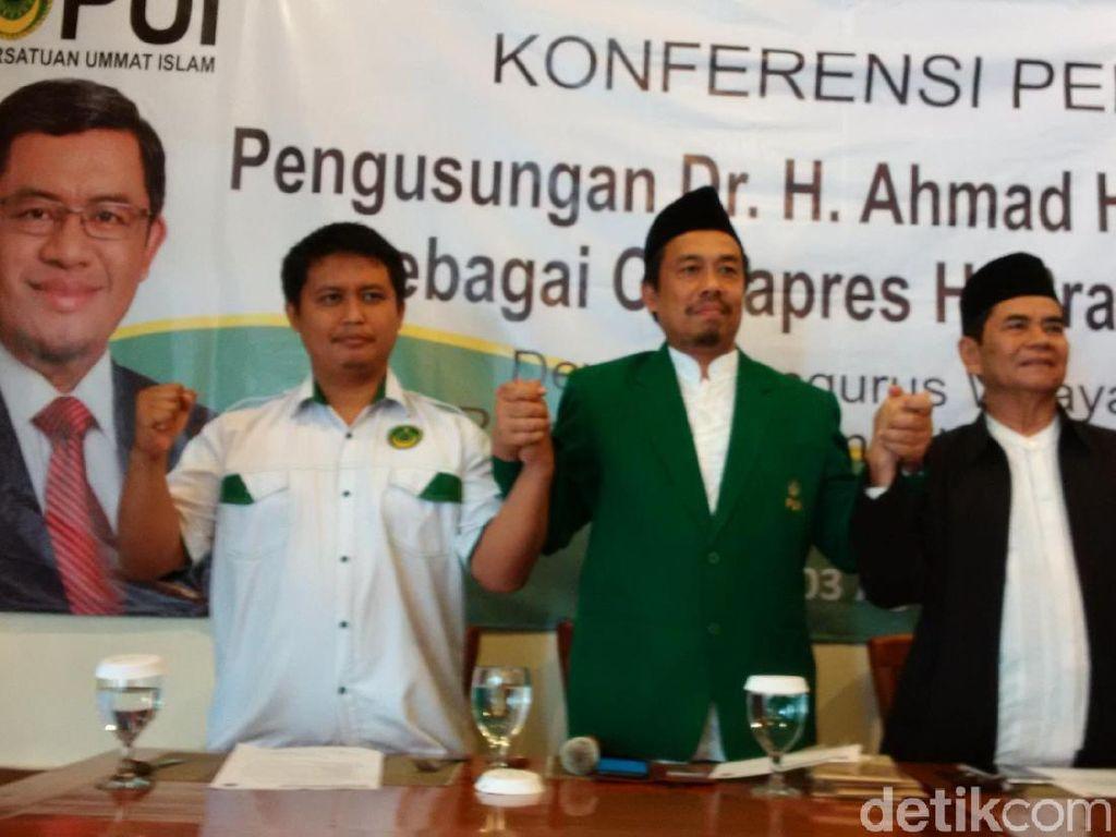 PUI Jabar Dorong Koalisi Keumatan Pilih Aher Dampingi Prabowo
