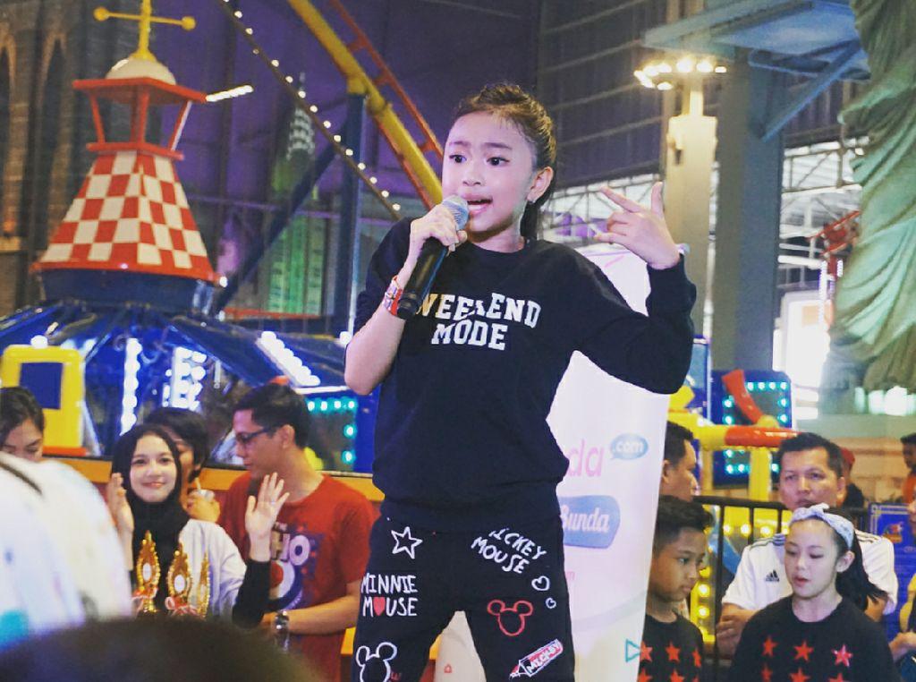 Manisnya Zara Leola, Penyanyi Cilik yang Jago Nge-dance