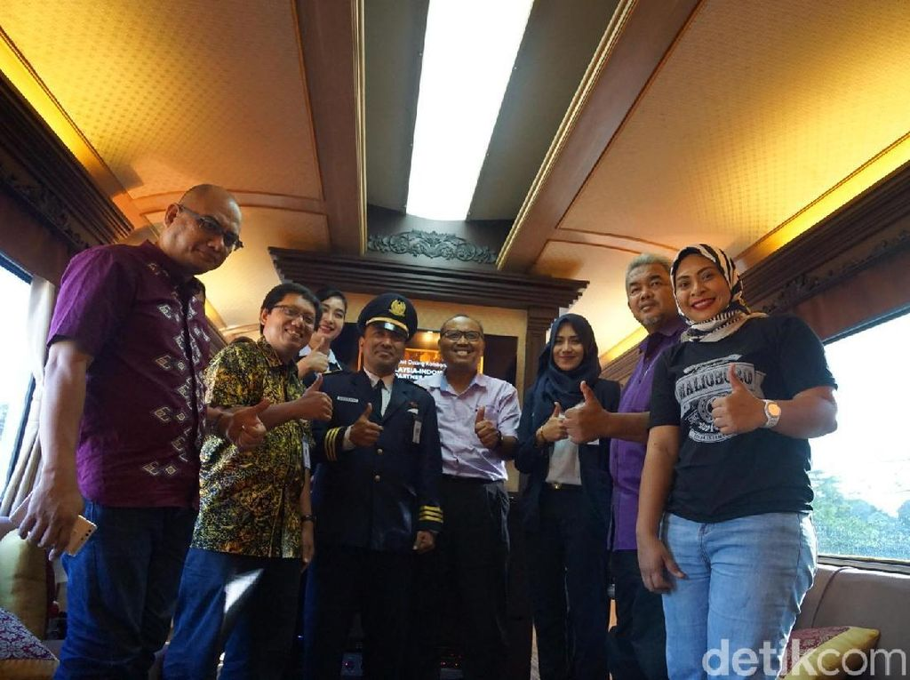 PT KA Pariwisata Incar Turis Malaysia