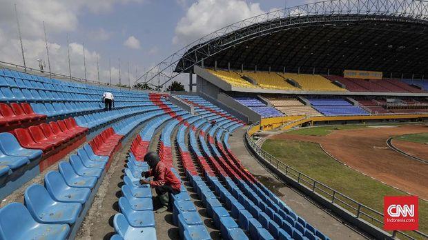 Rifanfinancindo | Stadion Bumi Sriwijaya jadi salah satu venue untuk Asian Games di Palembang.