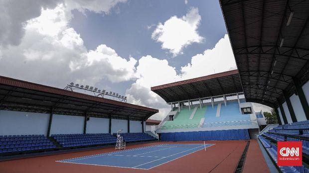 Rifanfinancindo | Venue untuk cabang olahraga tenis di Jakabaring Sport City.