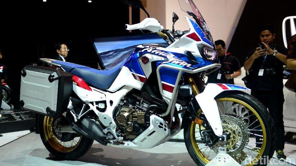 Moge Petualang Honda Bersolek
