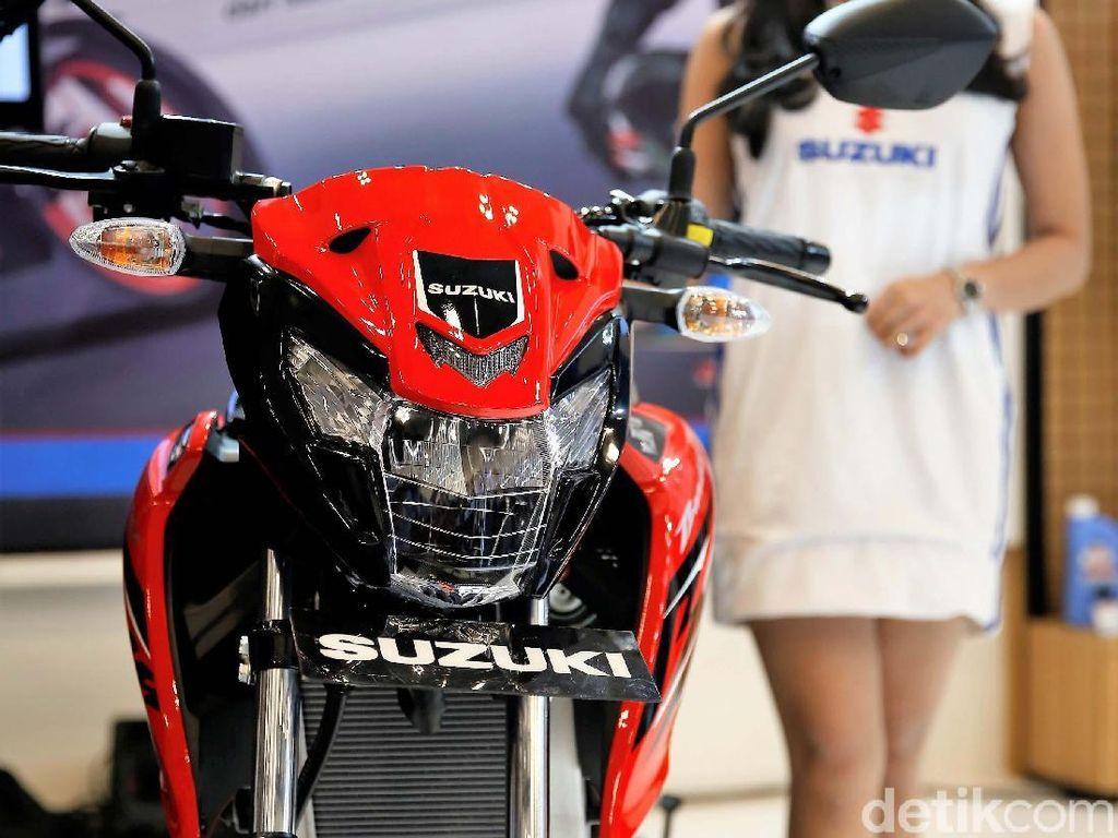 Penjualan Motor Suzuki Drop 50%, Ini Penyebabnya