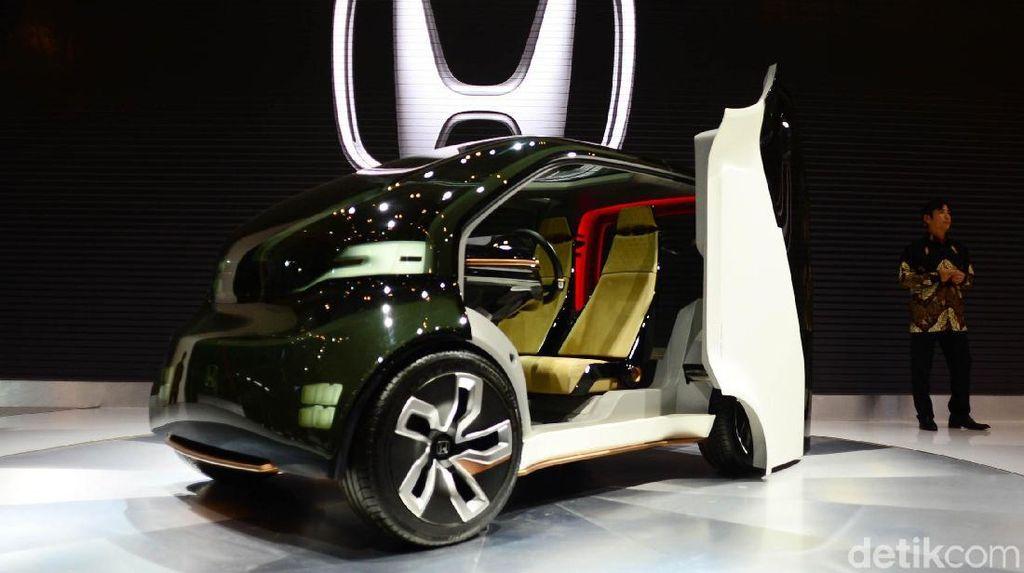 Mobil Listrik Honda untuk Jalan-jalan di Kota