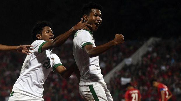 Bagas Kaffa dan adiknya Bagus Kaffi jadi andalan Timnas Indonesia U-16.