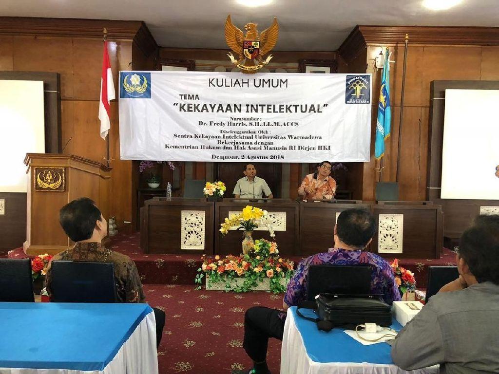 DJKI Dukung Litbang dan Universitas Inovasi Kekayaan Intelektual