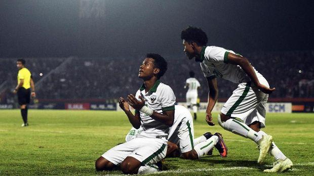 Bagas Kaffa kini bermain sebagai bek sayap di Timnas Indonesia U-16.