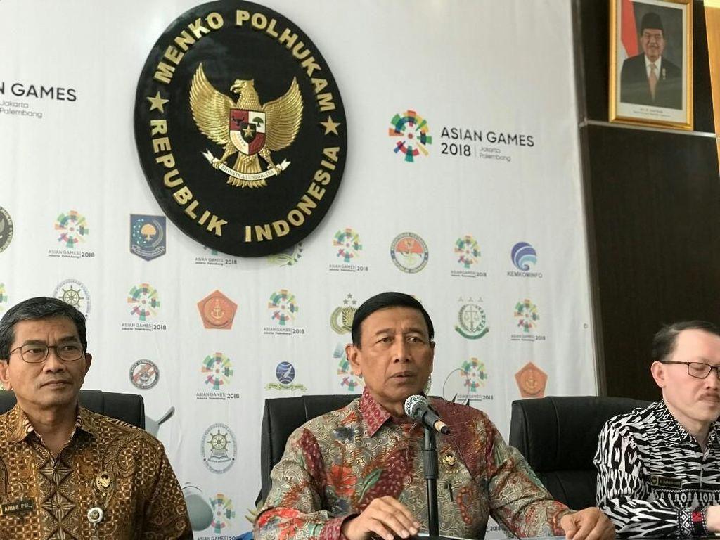 Wiranto Bentuk Tim Rampungkan Pengadaan Sukhoi SU-35