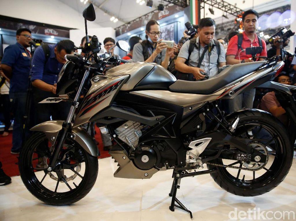 Suzuki Pasang Teknologi Moge di GSX150 Bandit