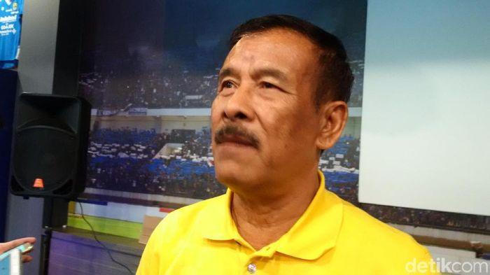Manajer Persib Bandung Umuh Muchtar (Foto: Mochamad Solehudin/detikSport)