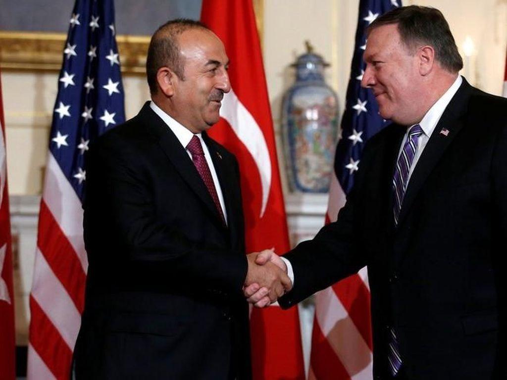 Turki dan AS Gagal Atasi Sengketa yang Picu Lira Anjlok
