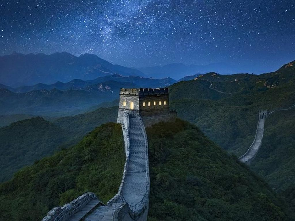 Ketika Tembok Cina Diubah Jadi Penginapan