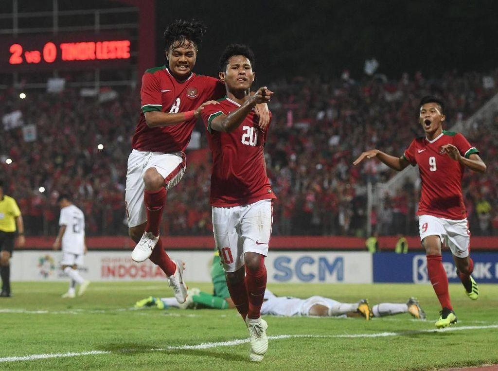 Bagus Kahfi Samai Rekor Gol Top Skor Piala AFF U-16